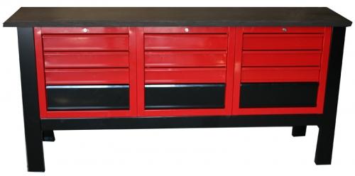 S/W/20 – Stół warsztatowy z blatem 1960×600 z matą gumową olejo-