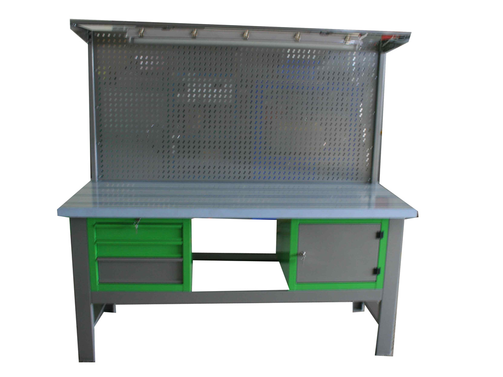 S/W/DIESEL1 – stół warsztatowy/olejowy  z szafką 1-szufladową –