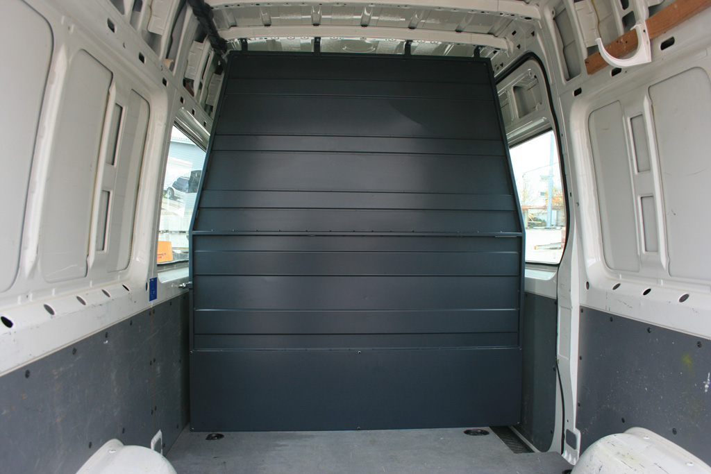 Ś/G/01 – Ściana grodziowa pojazdu serwisowego;
