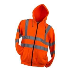 Bluza z kapturem ostrzegawcza URG-HV – Urgent