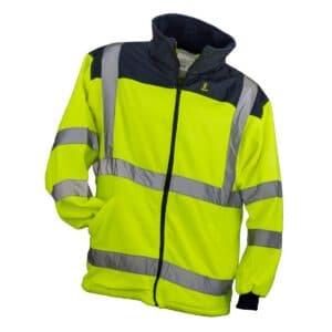 Bluza polarowa ostrzegawcza HSV YELLOW – Urgent